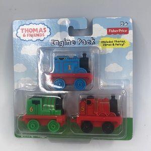 New Thomas the Train engine set Thomas,James,Percy